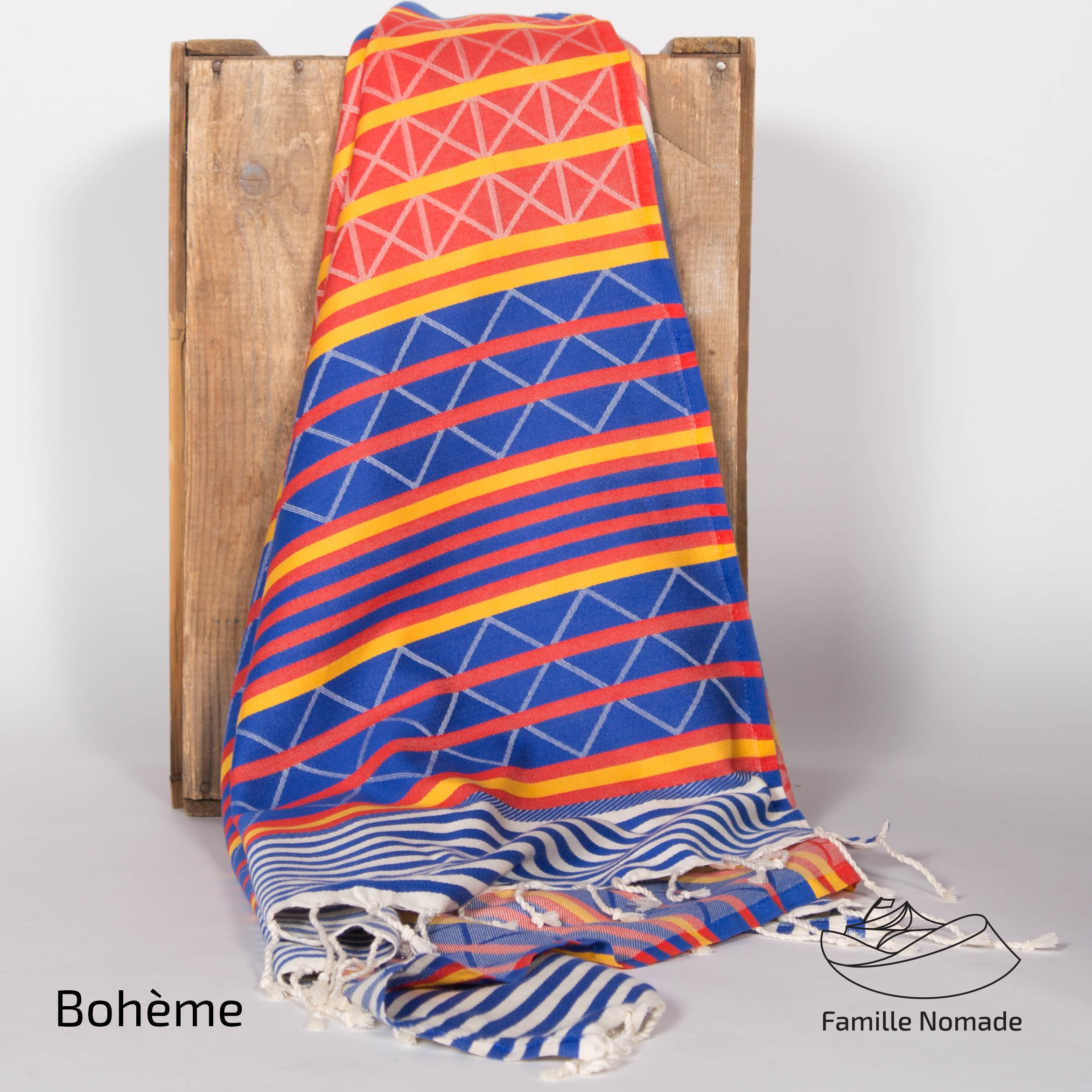Don't forget your fouta when heading South in the winter
